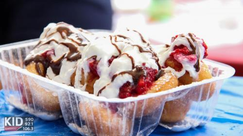 MD's Dinky Donuts - Raspberry Delight